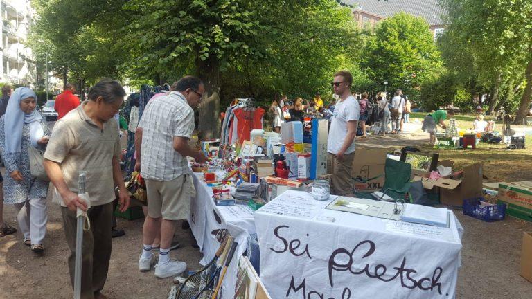 Flohmarkt Juli 18